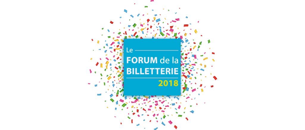 Logo de l'édition 2018 du Forum de la Billetterie